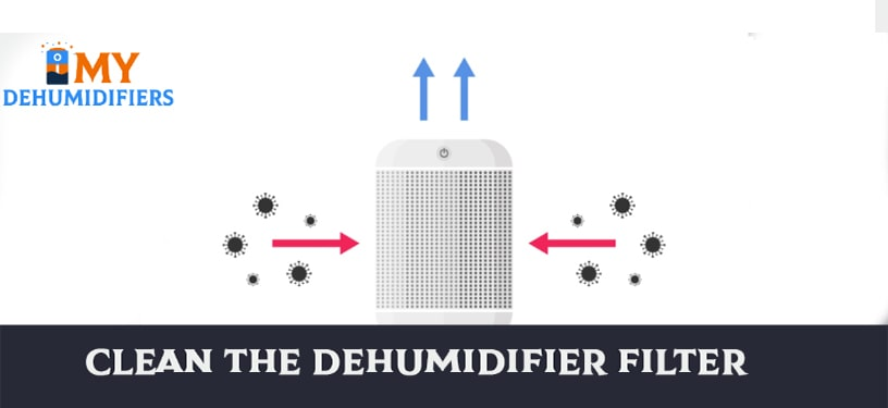 Clean The Dehumidifier Filter