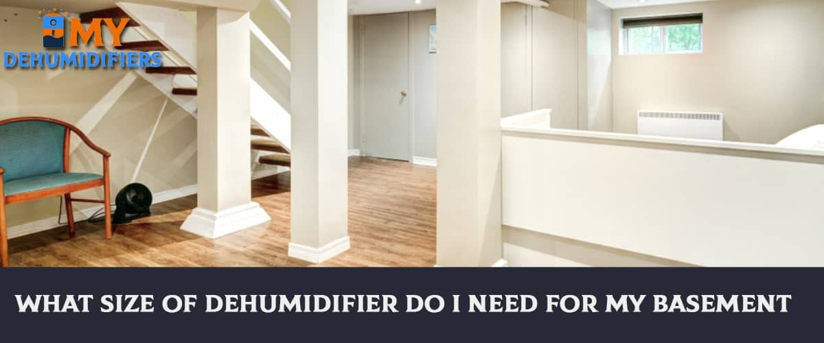 What Size Of Dehumidifier Do I Need For My Basement?