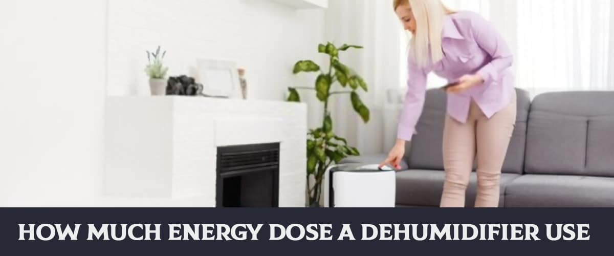 How Much Energy Dose A Dehumidifier Use?